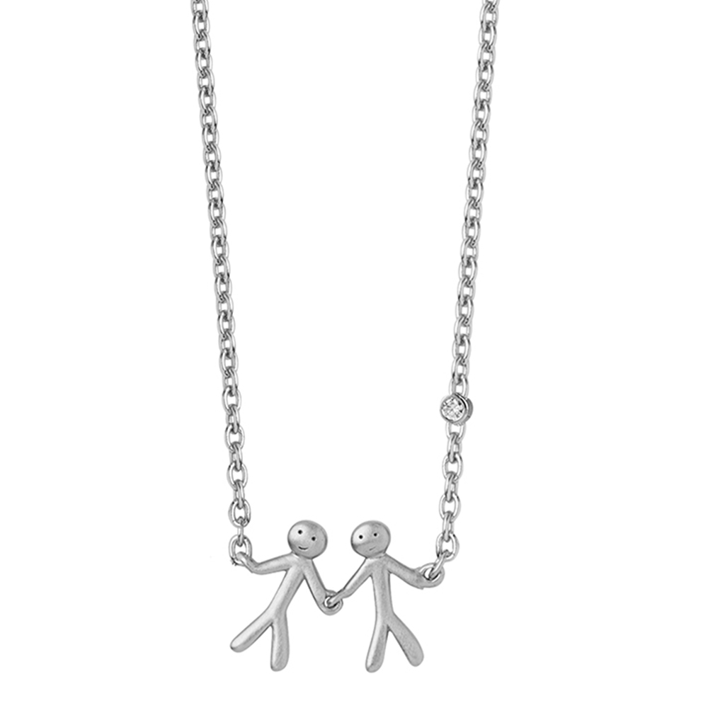 Together - My love necklace (2) - Silver