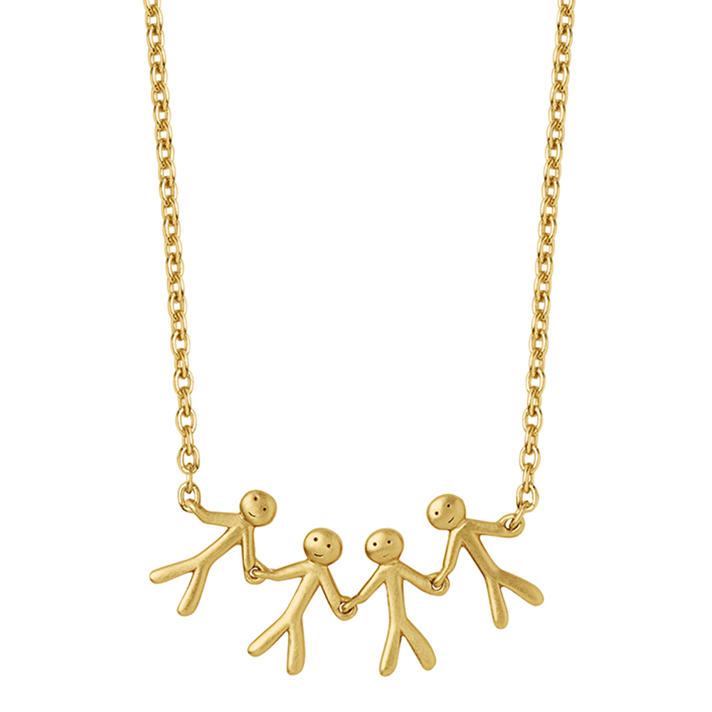 Together - Family necklace (4) - GP