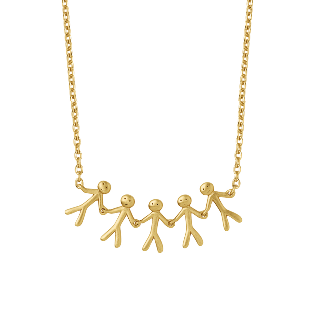 Together - Family necklace (5) - GP