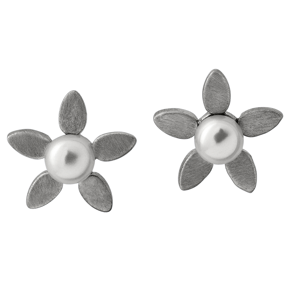 Forget-me-not pearls -  Silver